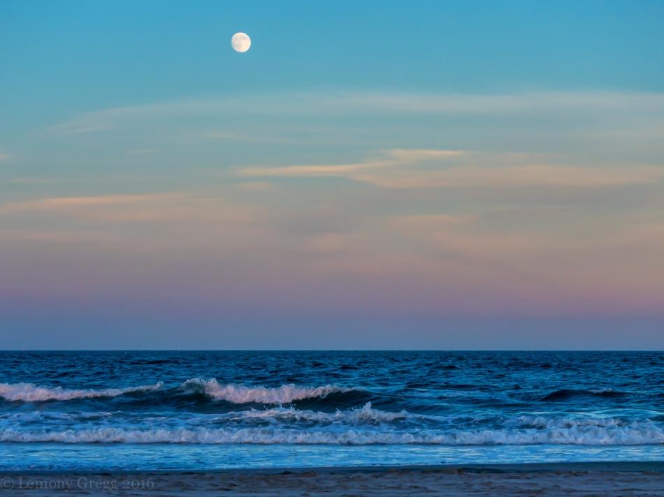 Twilight on the Shore